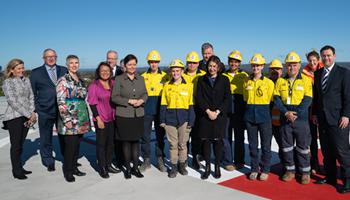 Premier opens new car park
