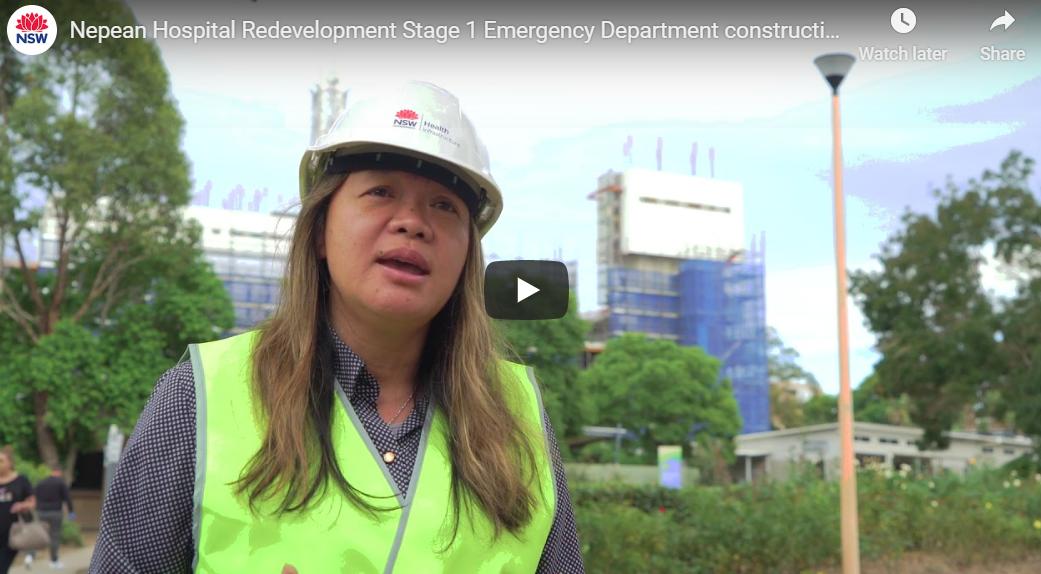 Emergency Department construction tour