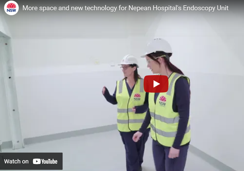 New technology for Nepean's Endoscopy Unit