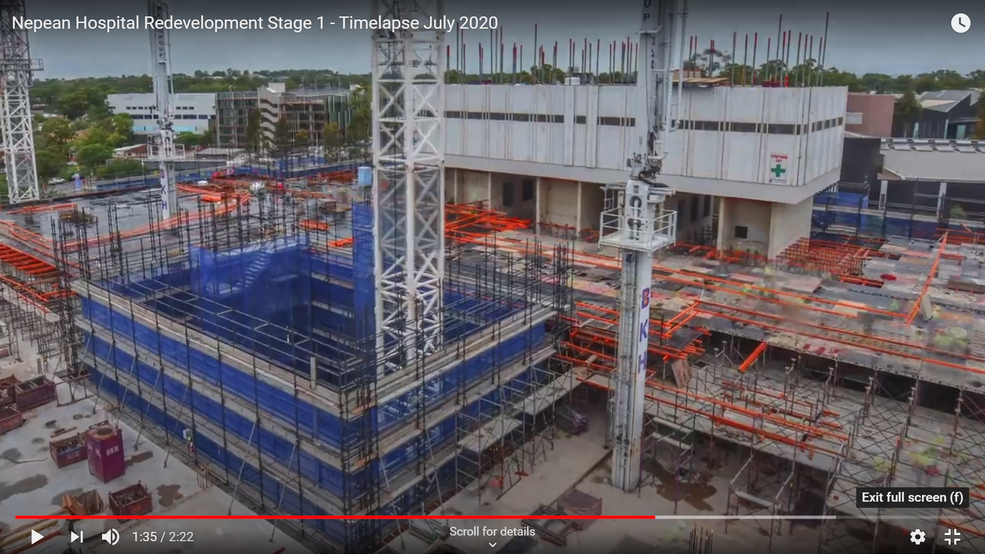 Stage 1 Construction Timelapse